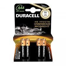 <b>Батарейка</b> Duracell Basic CN LR03-4BL AAA 4 шт Артикул ...