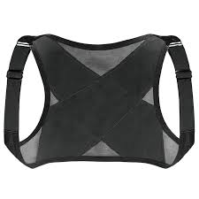 Unisex <b>Back</b> Support <b>Belt</b> Adjustable <b>Breathable</b> Posture <b>Corrector</b> ...