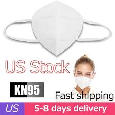 10 PCS <b>Effectively Block Dust</b> Masks KN95 Filtration Splash PM2.5 ...