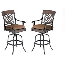 bar height patio chair: outdoor patio swivel bar stools  outdoor patio swivel bar stools