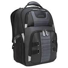"""DrifterTrek 15.6-17.3"""" <b>Laptop Backpack</b> with <b>USB Power</b> Pass-Thru ..."""