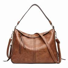<b>Luxury</b> Soft <b>Leather Hobo</b> Crossbody Messenger Bag – 105 Hillside