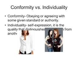 essay individuality vs conformity in college   essay for you    essay individuality vs conformity in college   image