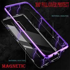 <b>Samsung Galaxy</b> S8 / Note 10 <b>Cover Magnetic</b> Adsorption Metal ...