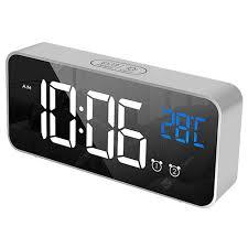 Digital Bedside <b>Alarm</b> Clock Gray Cloud Clocks Sale, Price & Reviews