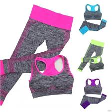 <b>Women</b> Workout <b>Elastic</b> Breathable Gym <b>Sports</b> Wear Seamless Bra ...