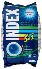 Купить <b>Стиральный порошок INDEX</b> Автомат 5 в 1 пластиковый ...