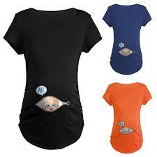 <b>CYSINCOS Women Blouse</b> Pregnant Cute Kid Pattern Vest ...