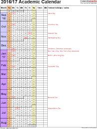 academic calendars   as   printable word templatestemplate   academic year calendar    as word template  portrait orientation