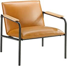 faux leather armchair - Amazon.com