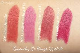 #FrenchFriday : <b>My Givenchy Le Rouge</b> Lipstick Collection (Review)