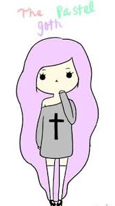 <b>The Pastel Goth</b> - Kawaii Potato-Chan