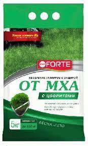 Bona Forte Газон + защита от <b>мха</b>, 5кг, с цеолитами в Москве ...
