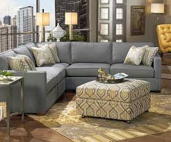london living room this versatile sectional features down blend seating and chic tufted detailing on the inside arms customize it with five different bhg living rooms yellow