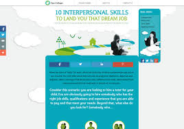 interpersonal skills to land you that dream job ly 10 interpersonal skills to land you that dream job infographic