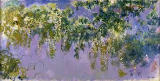 art artists claude monet part  claude monet 1917 20 wisteria oil on canvas 100 x 200 cm museacutee d art et d histoire marcel dessal dreux
