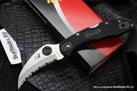 Купить <b>Нож складной</b> Spyderco Tasman <b>Salt</b> 2 H1 106SBK2 за 8 ...