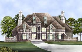 Pontarion Ii House Plans   Home Plans By Archival DesignsPontarion II House Plan   Castle House Plans  amp  Styles