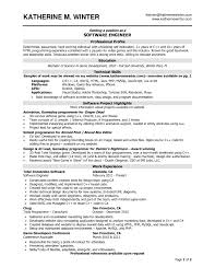 latest resume format for software developer cipanewsletter software developer resume sample berathen com
