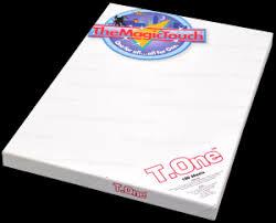 T.One <b>A4 термотрансферная бумага</b> (50 листов) - купить в ...