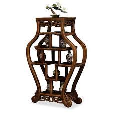 amazoncom asian style curio display stand amazoncom oriental furniture korean antique style liquor