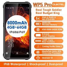 <b>OUKITEL WP5 Pro 4G</b> Smartphone 8000mAh Battery 5.5 inch 3 ...