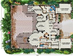 Cantrell Mediterranean House Plan    ALP  C   Chatham Design    Floor Plans for House Plan  ALP  C
