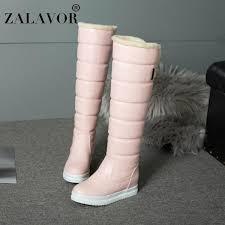 <b>ZALAVOR Women Boots</b> Plush Fur <b>Winter</b> Warm Shoes <b>Woman</b> ...