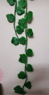 Valley Of Flowers Artificial <b>Green Leaves</b> Garland For <b>Decorations</b> ...