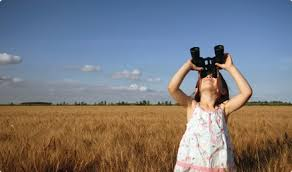 Image result for girl looking up at the sky