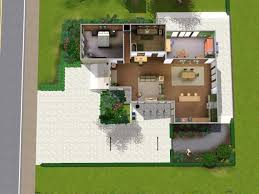 Eco Modern Home  x Residential LotLower floor plan