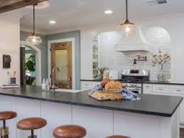 photos kitchen contemporary black and white kitchen with peninsula