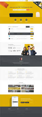 8 career guidance website templates themes premium professional job board psd website template