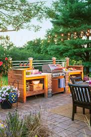 Outdoor Patio Kitchen 17 Best Ideas About Diy Outdoor Kitchen On Pinterest Grill
