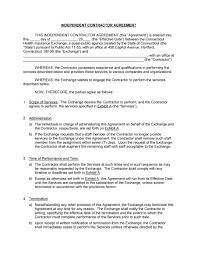 independent contractor agreement forms templates independent contractor agreement 14