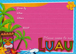 party planning center printable hawaiian luau party invitations click to enlarge and then control click mac or right click pc to save the luau invitation template to your hard drive please note that this invitation