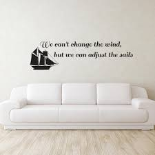 adjust the sails quote wall decal amazing wall quotes office