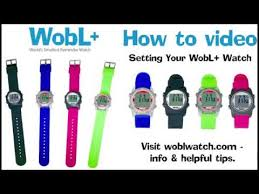 WobL+ <b>Vibrating</b> Alarm Reminder Watch - <b>WATERPROOF</b> - YouTube