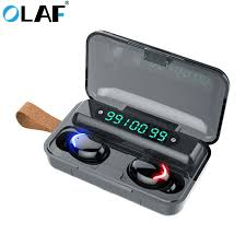 <b>OLAF</b> Bluetooth 5.0 <b>Earphones</b> 2200mAh Charging Box <b>Wireless</b> ...