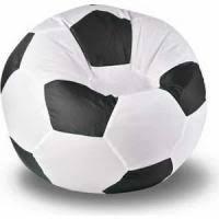 <b>Кресло мешок мяч пазитифчик</b> бмо7 бело черный в Санкт ...