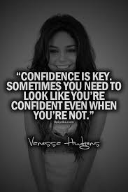 quotes and text   We Heart It   quote, confidence, and vanessa hudgens via Relatably.com