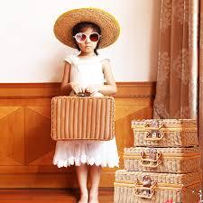 2019 hand <b>woven bag rattan straw handbag</b> ladies <b>bamboo</b> Square ...