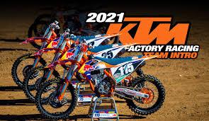 2021 <b>KTM</b> FACTORY <b>RACING TEAM</b> INTRO – Dirt Bike Magazine