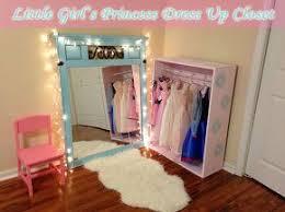Princess Room Furniture DIY Little Girlu0027s Princess Dress Up Closet Room Furniture