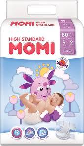 <b>Подгузники Momi High Standard</b>, размер S, 4-8 кг, 80 шт — купить ...