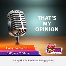 Joy FM That's My Opinion