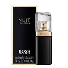 <b>Hugo Boss Nuit</b> Pour Femme Eau de Parfum for Women - 50 ml ...