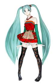 <b>Hatsune Miku</b> wearing a dress inspired by Polish folklore - Akamine ...
