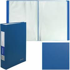 <b>Brauberg Папка Office</b> цвет синий 222640 — купить в интернет ...