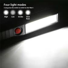 SANYI 4 Modes Flashlight Torch USB Cable Charging <b>LED</b> 30000 ...